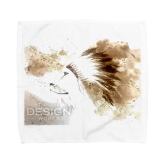 LION HEART Towel handkerchiefs