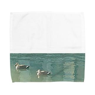 鴨 Towel handkerchiefs