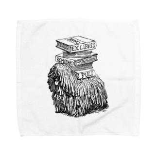 プーリー蔵書票 Towel handkerchiefs