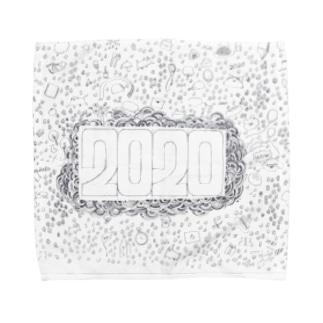 2020強調グッズ Towel handkerchiefs