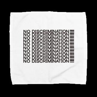ヒラエイのNO DISCRIMINATION Towel handkerchiefs