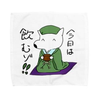 千利いぬ Towel handkerchiefs