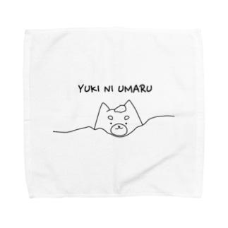 YUKI NI UMARU Towel handkerchiefs