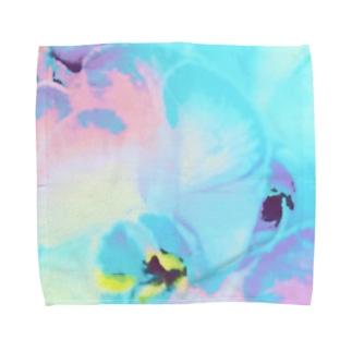幸福が飛んでくる!イランの胡蝶蘭♡レインボー Towel handkerchiefs
