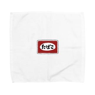 タバコ Towel handkerchiefs