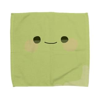 ・_・ Towel handkerchiefs