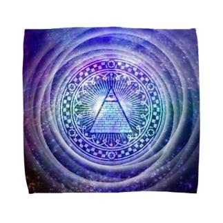 秘密結社(宇宙系) Towel handkerchiefs