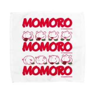 MOMOROS(WHITE) Towel handkerchiefs