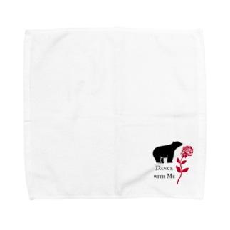 Dance with Me Towel handkerchiefs