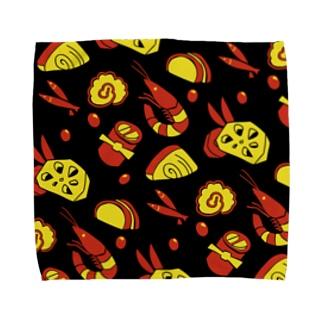 オセチ Towel handkerchiefs
