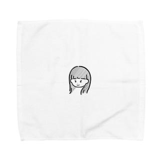 よしみ子 Towel handkerchiefs