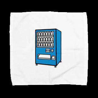 チョコリングボーイのお店の自動販売機 / type-D Towel handkerchiefs
