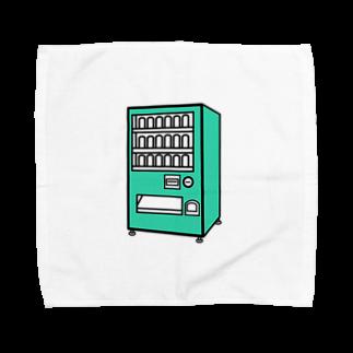 チョコリングボーイのお店の自動販売機 / type-E Towel handkerchiefs