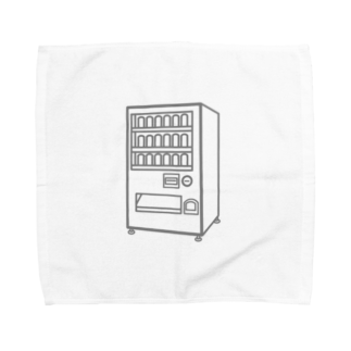 チョコリングボーイのお店の自動販売機 / type-C Towel handkerchiefs