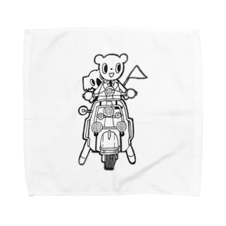 くたんとこたん Towel handkerchiefs