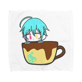 マグカップぽるろグッズ Towel handkerchiefs