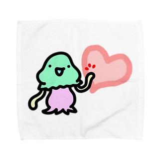 ハートタッチコペトン Towel handkerchiefs