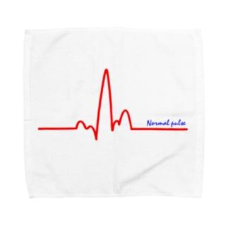 正常な脈 Towel handkerchiefs