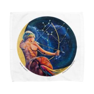 Sagittarius Towel handkerchiefs