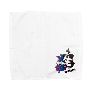 mi-ya.@完全体ニャースのラビッシュ Towel handkerchiefs