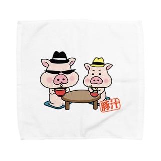 豚汁兄弟 Towel handkerchiefs