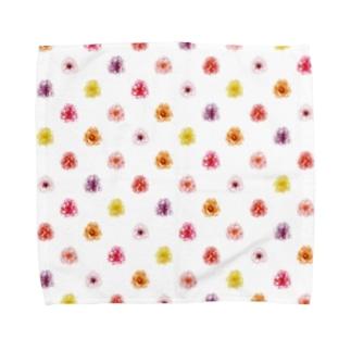 春のお花 Towel handkerchiefs