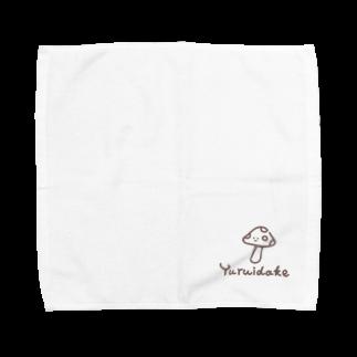 ynkseのゆるいだけ Towel handkerchiefs