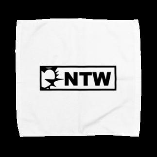 notsuwahisashinのNTWロゴ(黒) Towel handkerchiefs