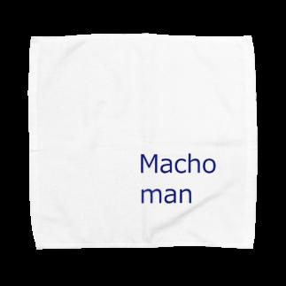 アメリカンベースのマッチョマン Towel handkerchiefs