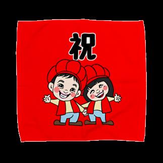 nicoarrrt_fashionの還暦祝い Towel handkerchiefs