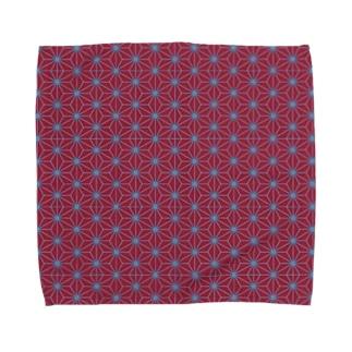 麻の葉 Towel handkerchiefs