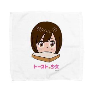 トースト少女 Towel handkerchiefs