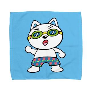 泳ぐ前の準備体操 Towel handkerchiefs