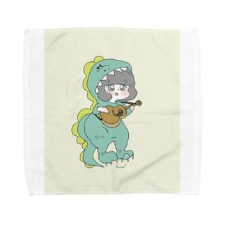 怪獣です Towel handkerchiefs
