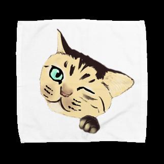 raraのねこちゃん Towel handkerchiefs