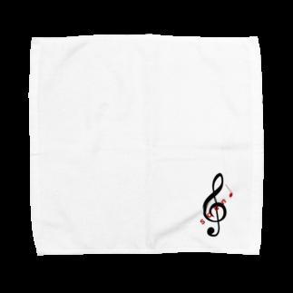 soundのsound ロゴ (小) Towel handkerchiefs