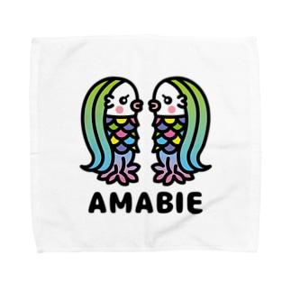 toodle doodleのアマビエツインズ♥ Towel handkerchiefs