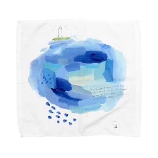 海とゴッホの言葉 Towel handkerchiefs