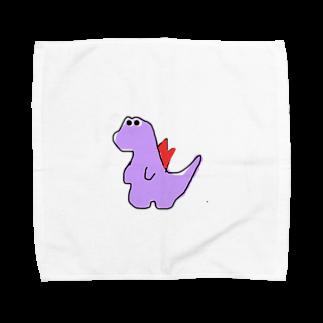 eeeeeeのきょうりゅう Towel handkerchiefs