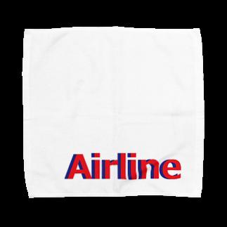 アメリカンベースのエアライン Towel handkerchiefs