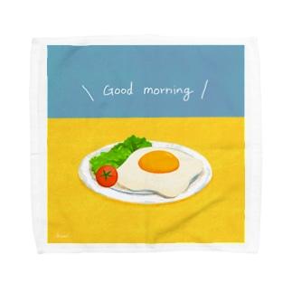 Good morning  Towel handkerchiefs