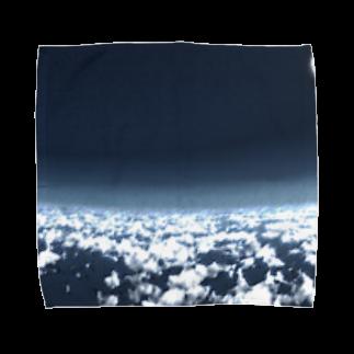 甕邨(ようそん)の空 Towel handkerchiefs