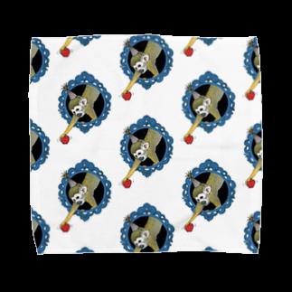 Leee_sanのコモンリスザル Towel handkerchiefs