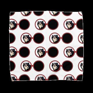 Leee_sanのメガネグマ  Towel handkerchiefs