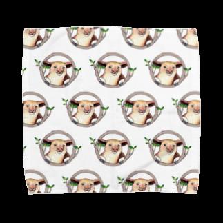 Leee_sanのセスジキノボリカンガルー Towel handkerchiefs