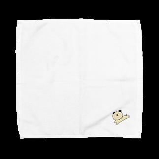 play_imageの【Yurumal 1】 inu Towel handkerchiefs