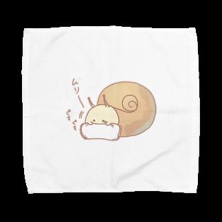 鈴のまくらとむりつむり Towel handkerchiefs