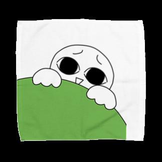 がまの店のみてる子 Towel handkerchiefs