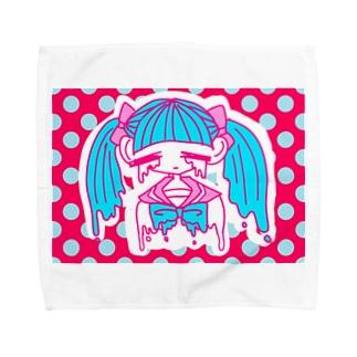 ぴえんちゃん Towel handkerchiefs