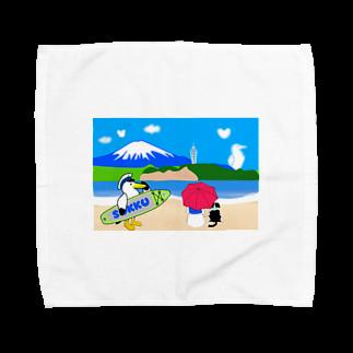 そっくの海辺でまったり パラソル Towel handkerchiefs